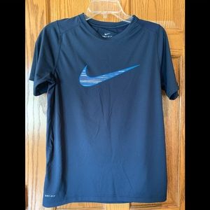 Nike boys youth navy dri fit